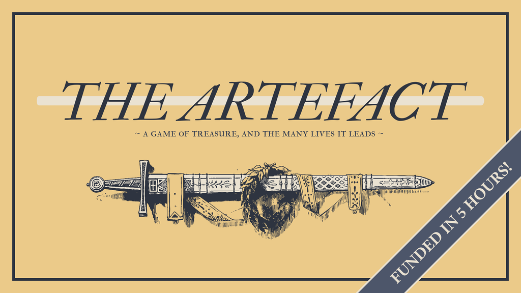 The Artefact, a solo RPG zine project video thumbnail