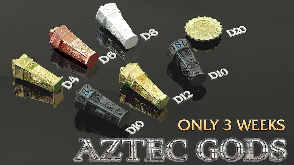 Aztec Gods Dice project video thumbnail
