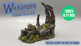 Wardroid Graveyard - 3D Printable Scenery thumbnail