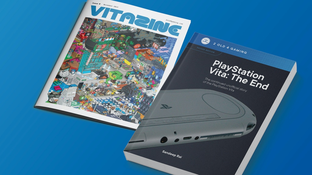 PlayStation Vita: The End - Unofficial Book project video thumbnail