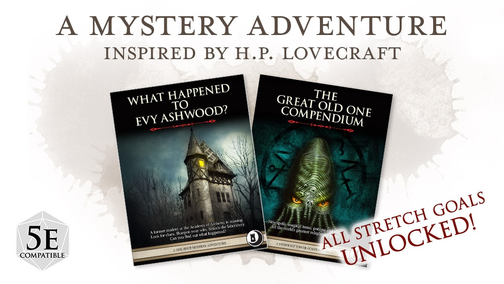 A One-shot Mystery Adventure Inspired by H.P. Lovecraft! project video thumbnail