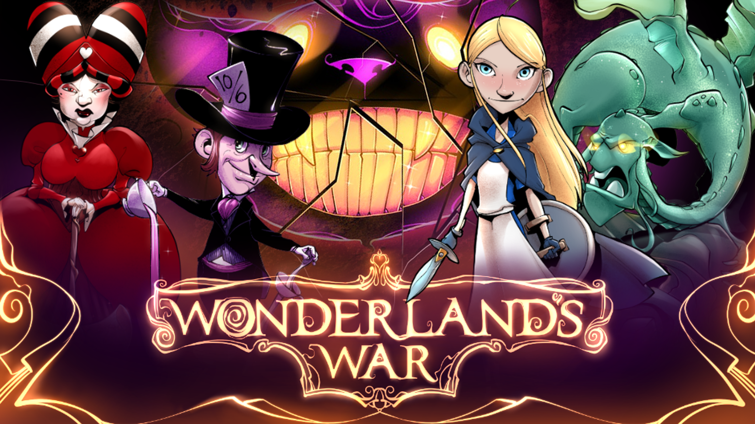 The Looking Glass has shattered, madness is being drained from the inhabitants, and war has come. Who will rule Wonderland?