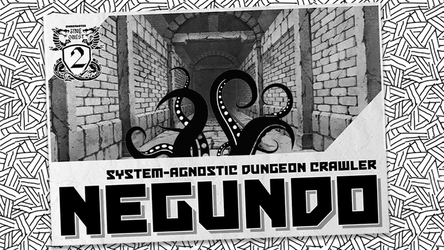 A system agnostic dungeon crawler zine