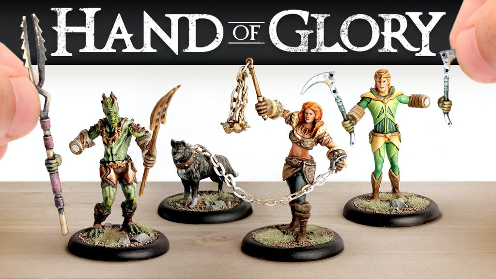 Hand of Glory 2: Modular Magnetic Gaming Miniatures project video thumbnail