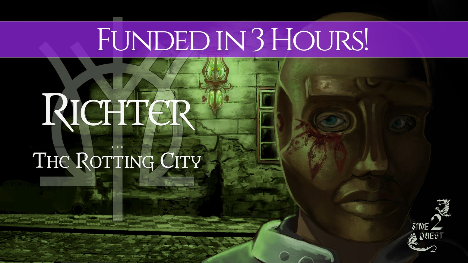 A system-agnostic city, Richter: The Rotting City, for tabletop-role-playing games.