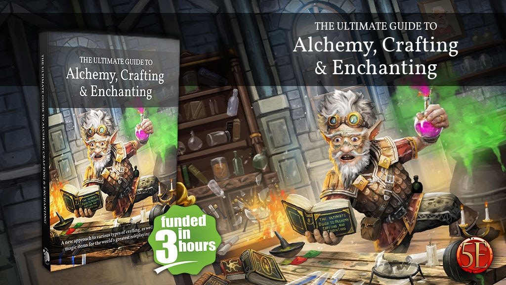 The Ultimate Guide to Alchemy, Crafting & Enchanting for 5E project video thumbnail