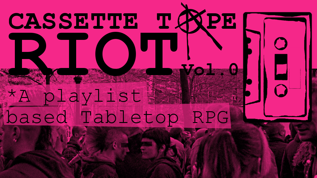 Project image for Casette Tape Riot Vol. 0 (Zine Quest 2)