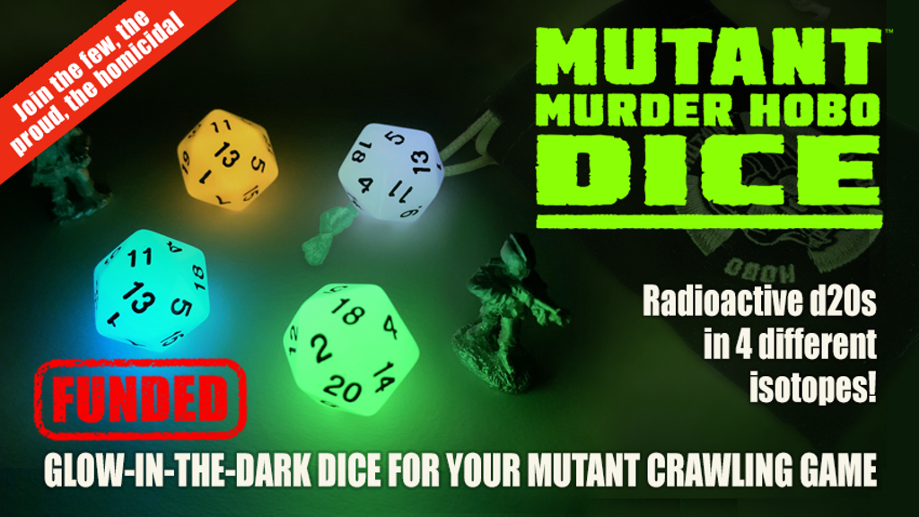 Project image for Mutant Murder Hobo Dice
