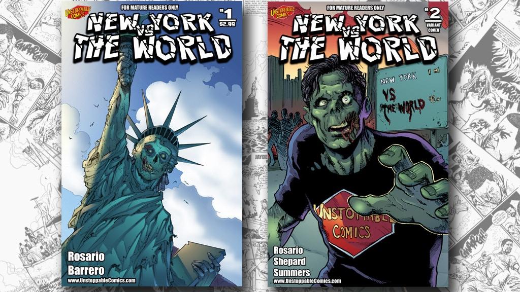 New York vs The World #2 project video thumbnail