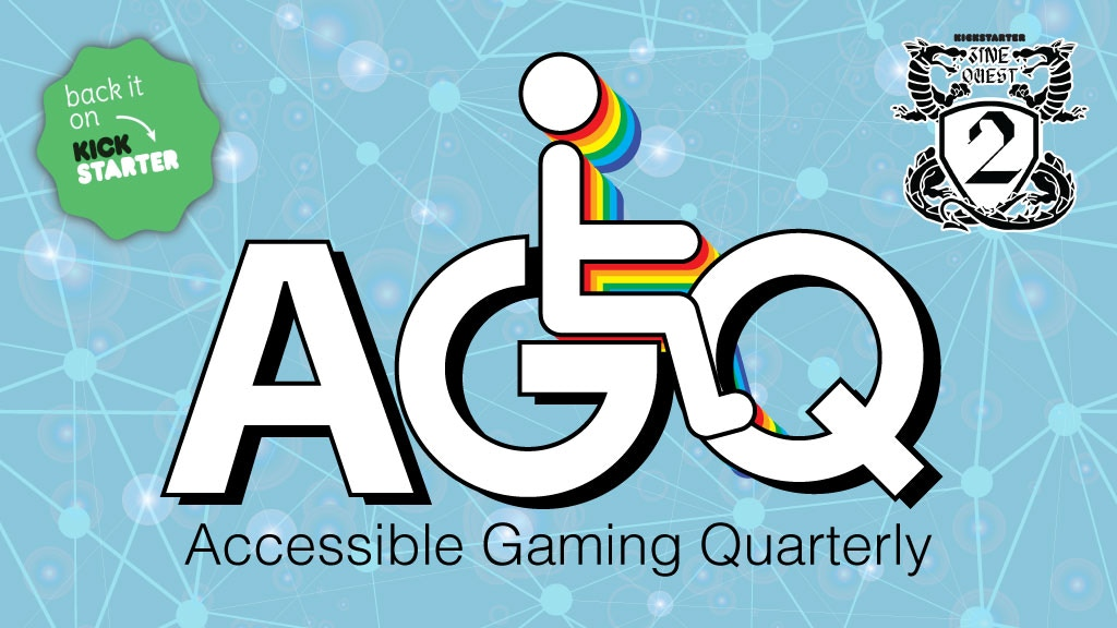 Project image for Accessible Gaming Quarterly, an RPG Zine