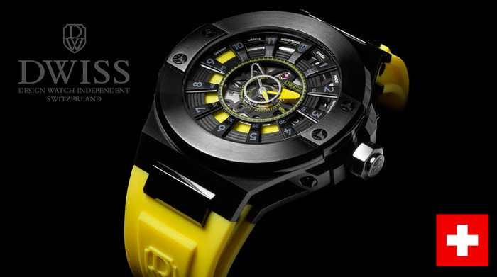 THE MOST INNOVATIVE AND AWARDED SWISS MADE TIMEPIECE IN CROWDFUNDING. A WATCH WITH A GROUNDBREAKING TIME READING SYSTEM!