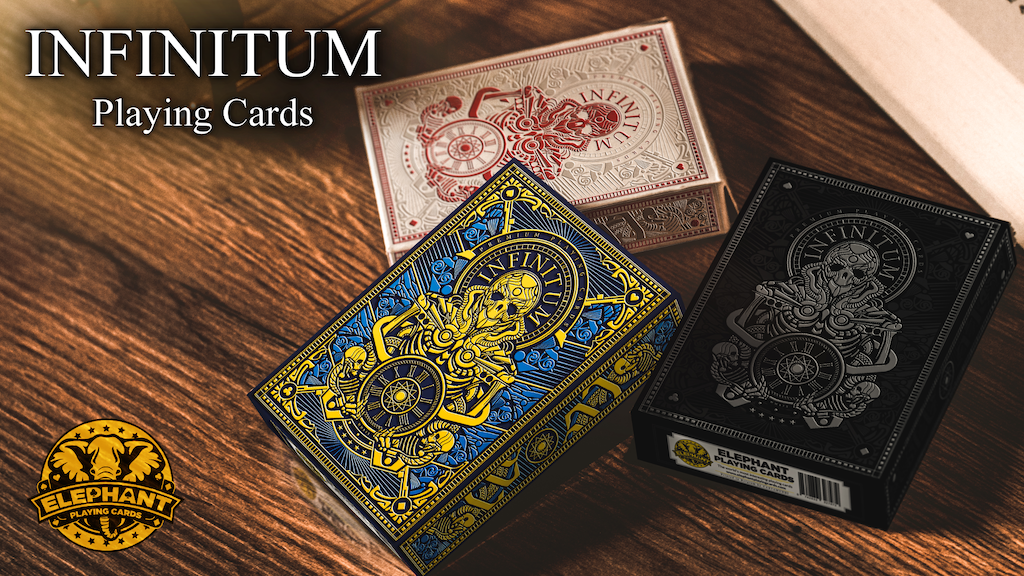 Infinitum - A Deck Of Luxury Playing Cards (New & Improved) project video thumbnail