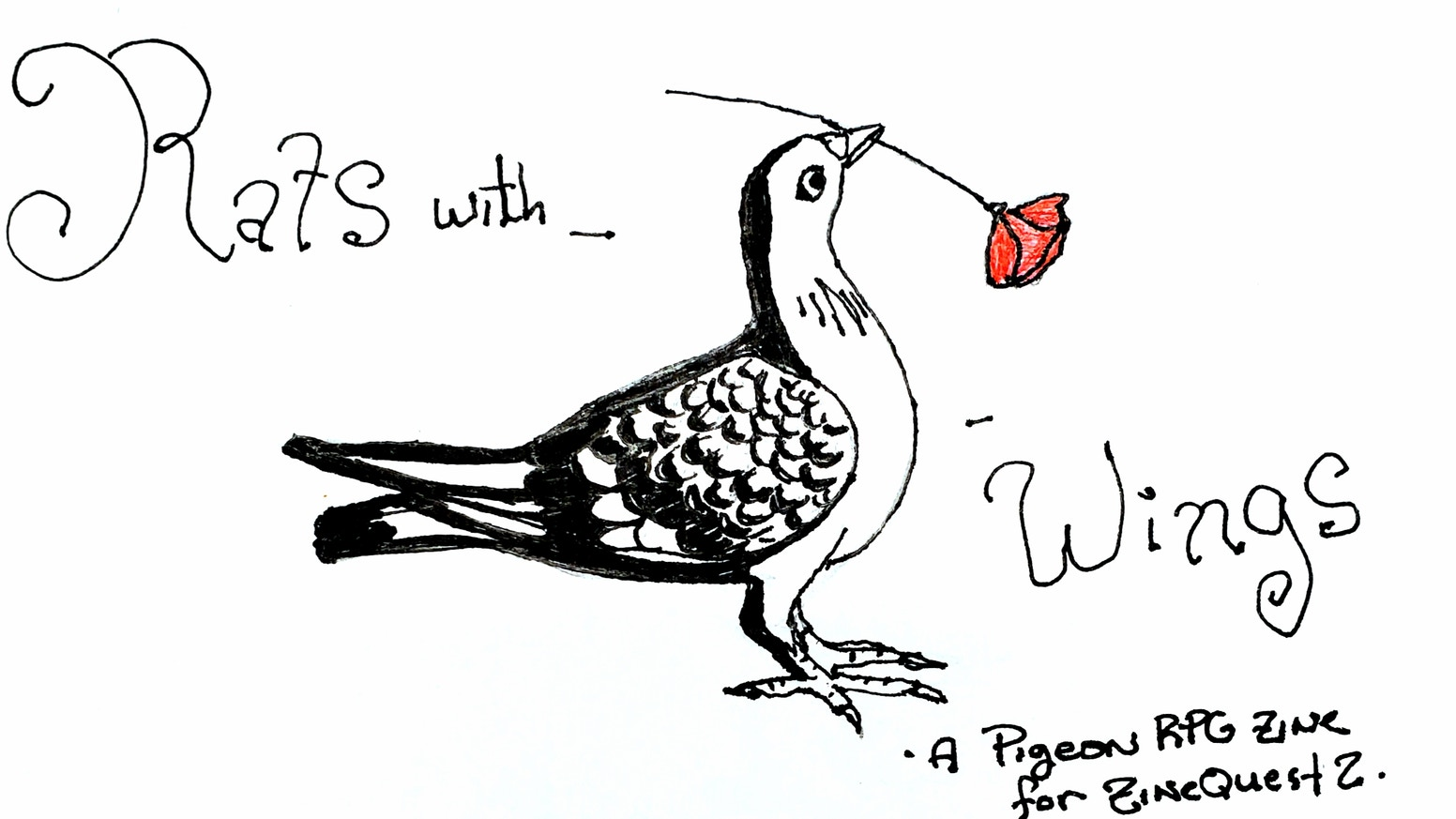 An RPG zine dedicated to pigeons. Yes, that kind of pigeon.