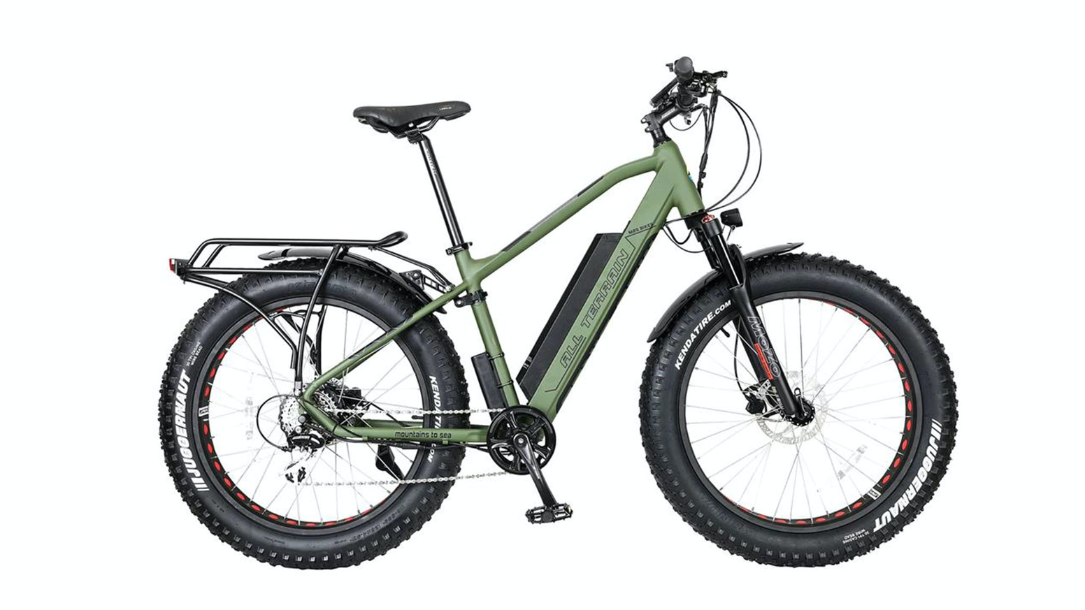 The new and improved All Terrain R750 electric assist bike gives riders the power to explore their world.