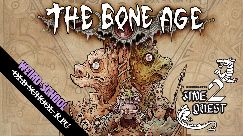 Project image for The Bone Age - Weird School RPG [Zine Quest]