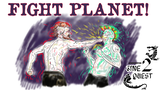 FIGHT PLANET! A Roguelike Tabletop RPG Zine thumbnail