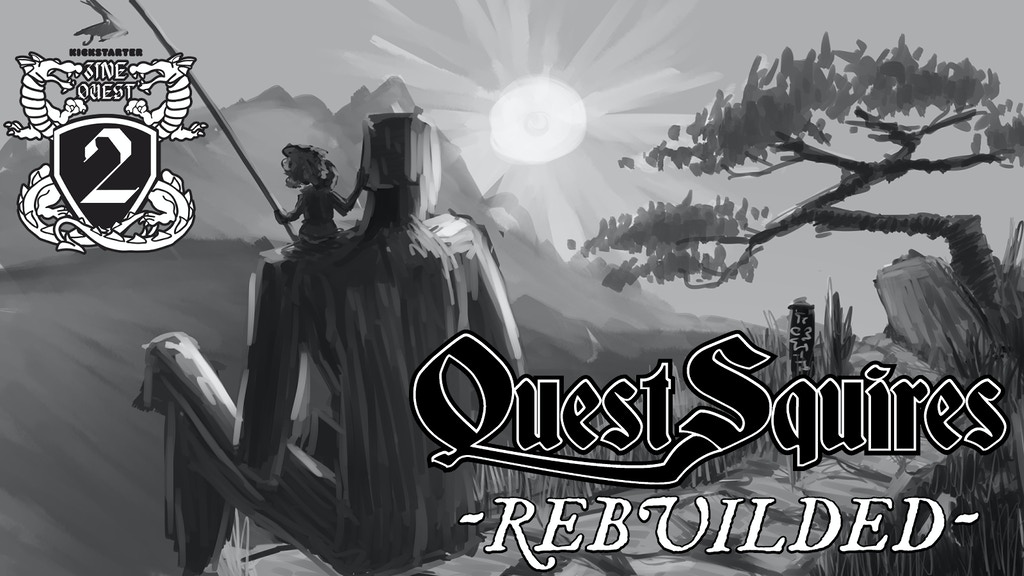 Project image for QUEST SQUIRES: Rebuilded -Zine Quest 2