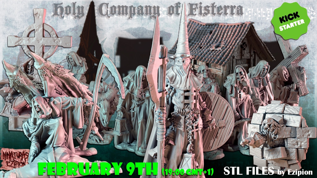 Holy Company of Fisterra - STL FIles by Ezipion project video thumbnail