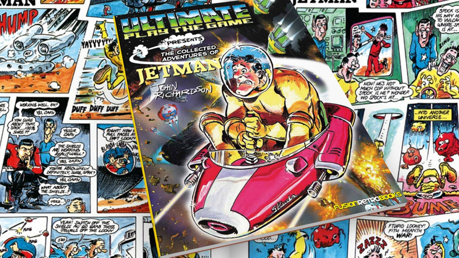 A book of the complete Jetman comic strip that appeared in CRASH magazine! The 'ultimate' tribute to this space hero!