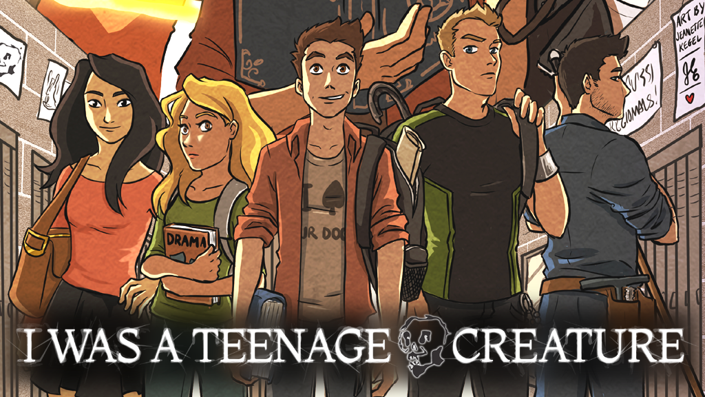 I WAS A TEENAGE CREATURE RPG project video thumbnail
