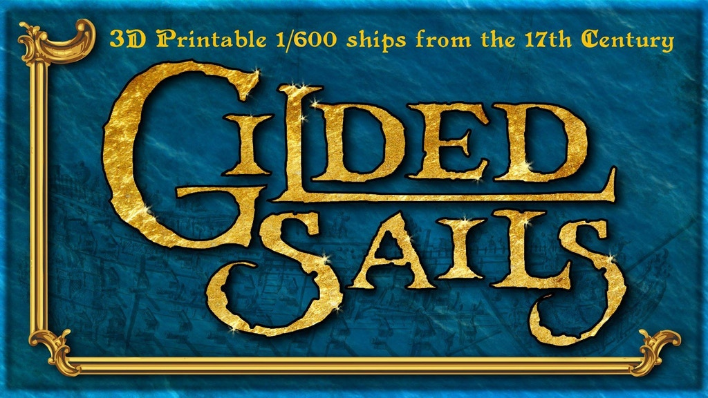 Project image for Gilded Sails: 3D-printed ships for the Anglo-Dutch Wars