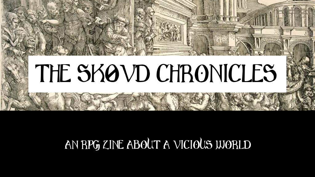 THE SKØVD CHRONICLES #1 - Weird Gothic City Crawl Zine project video thumbnail