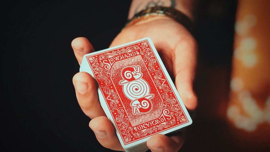 Slow Hands Playing Cards project video thumbnail