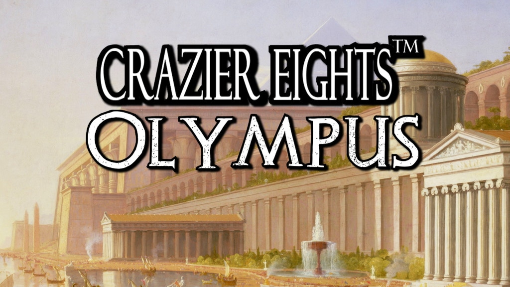 Crazier Eights: Olympus (Fantasy Card Game) project video thumbnail