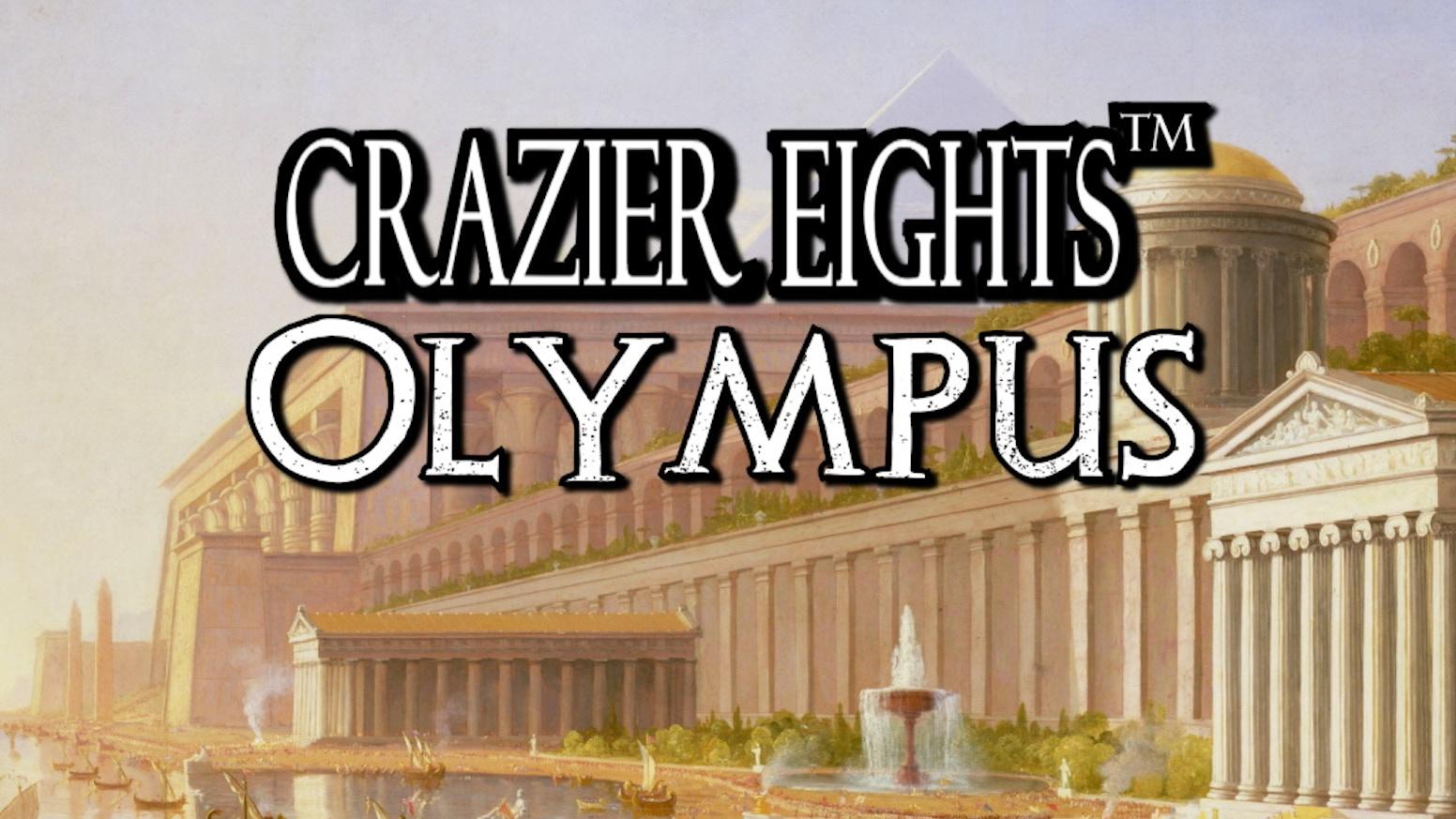 Crazier Eights: Olympus (Fantasy Card Game)