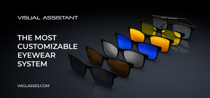 Eyeglasses with a variety of polarized magnetic filters designed to protect your eyes and enhance your vision in any weather condition.