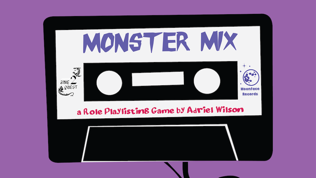 Project image for Monster Mix: A Role Playlisting Game Zine