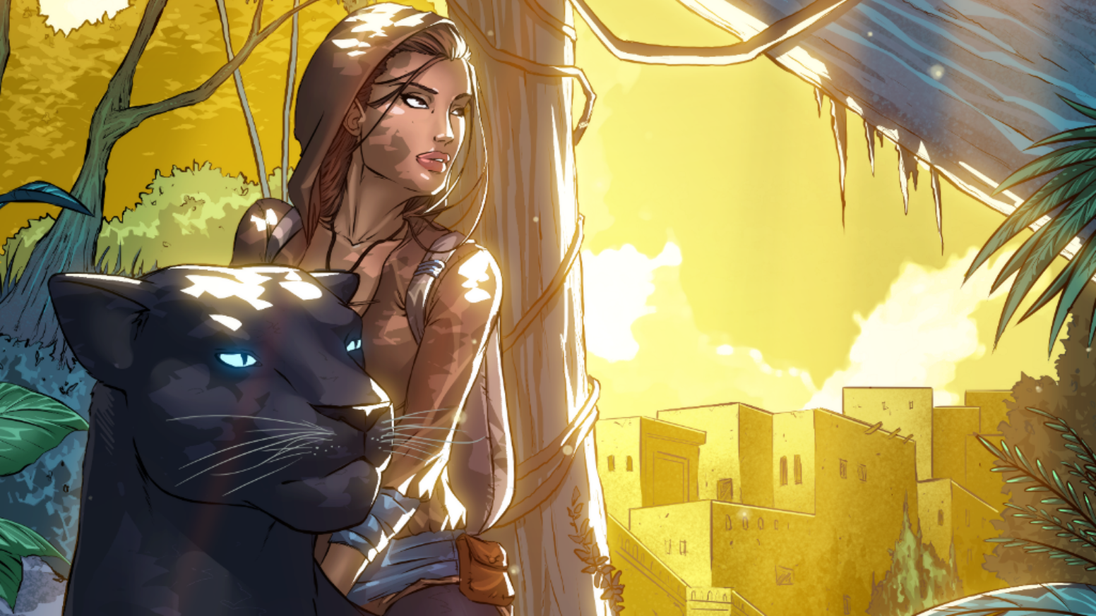 This isn't your typical fairytale. Explore the world of Zareen and the secrets that it holds...