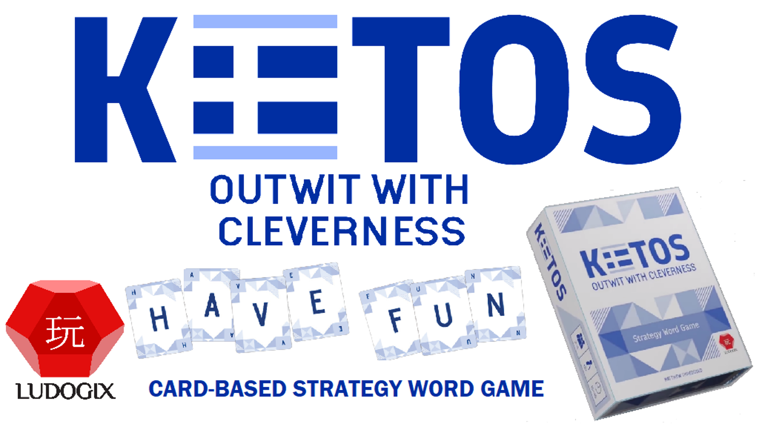 Kiitos - Outwit with Cleverness - a game by Matthew Thredgold - visit Ludogix.com by clicking Follow along!