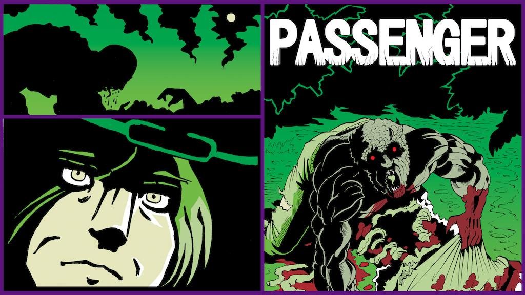 Passenger (Horror Comic Book) project video thumbnail