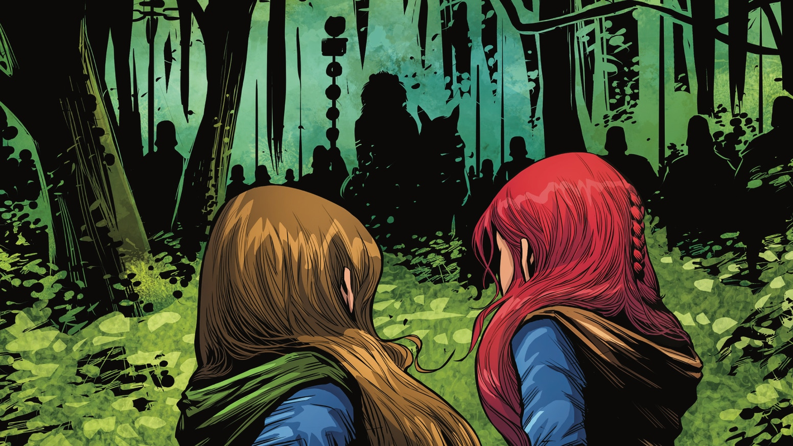 An 88-page full-color comic about three women rebelling against the Roman Empire.