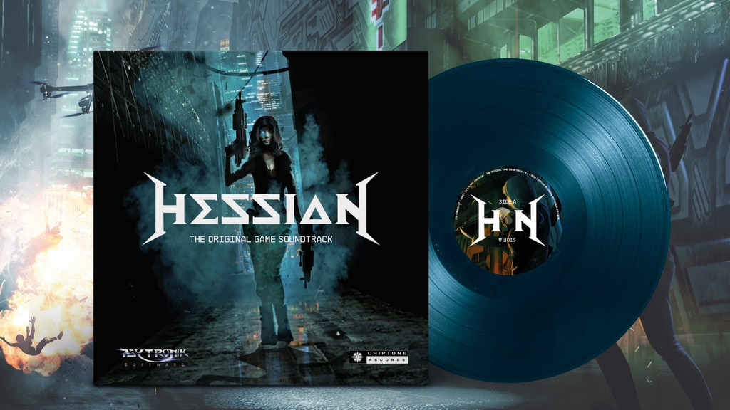 Hessian: Commodore 64 chiptune game soundtrack on Vinyl & CD project video thumbnail