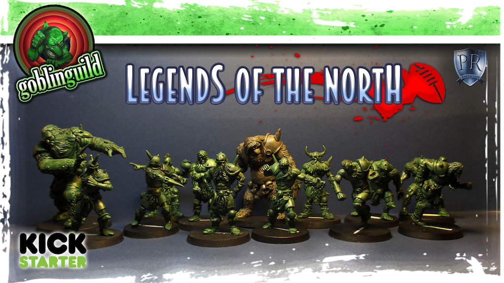 Project image for LEGENDS OF THE NORTH, Norse/Viking/Barbarian football team (Canceled)