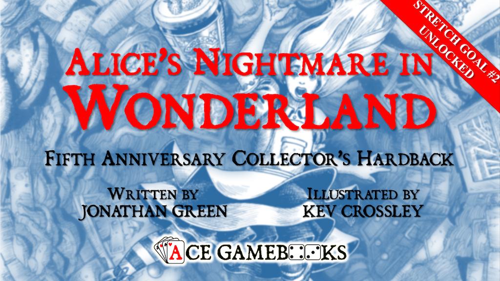 Alice's Nightmare in Wonderland 5th Anniversary Hardback project video thumbnail