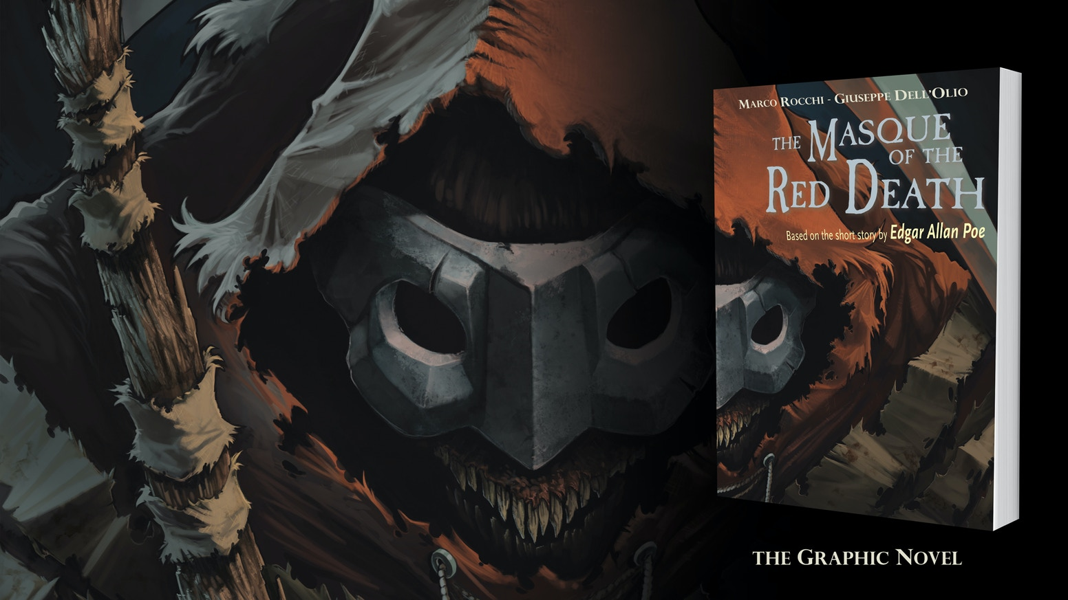 The Graphic Novel based on the short story by Edgar Allan Poe!