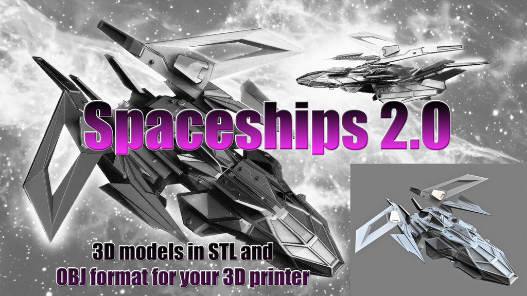 Project image for Spaceships 2.0 - 3D printing for Board games