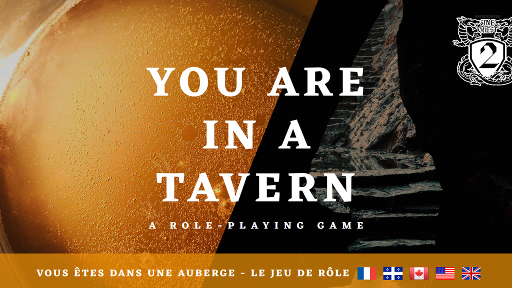 Project image for You are in a tavern # Zine Quest