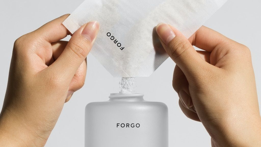 FORGO - Sustainable Powder to Liquid Hand Wash project video thumbnail