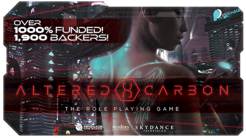 Altered Carbon: The Role Playing Game project video thumbnail