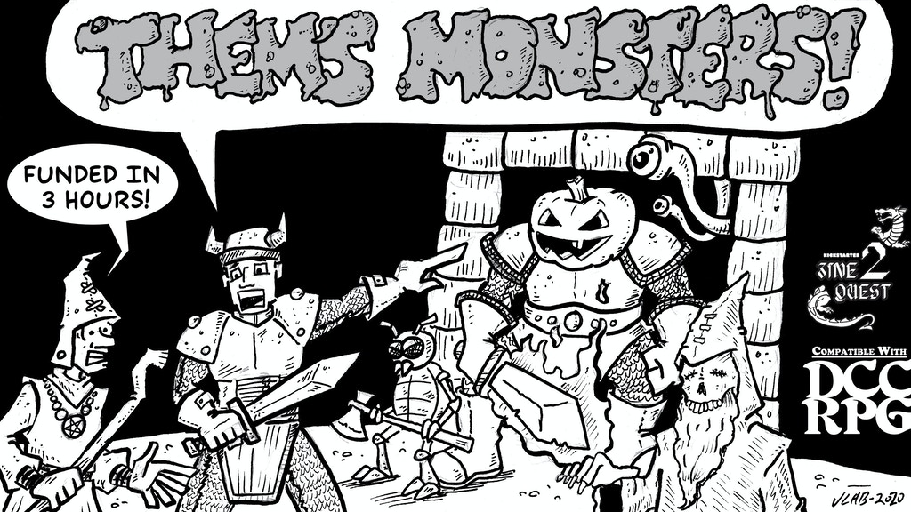 Project image for Them's Monsters! [Zinequest]