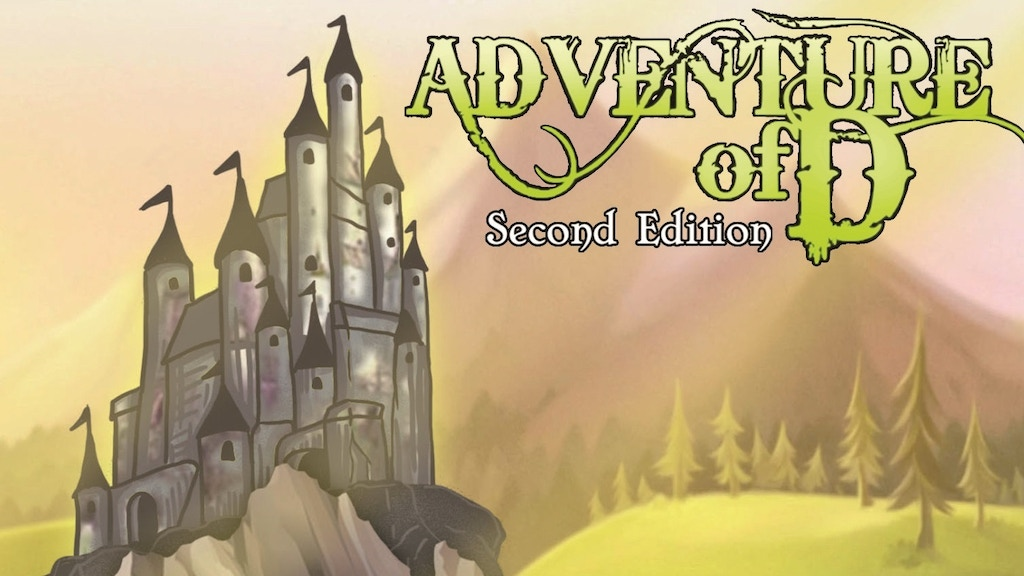 Adventure of D (second edition) project video thumbnail