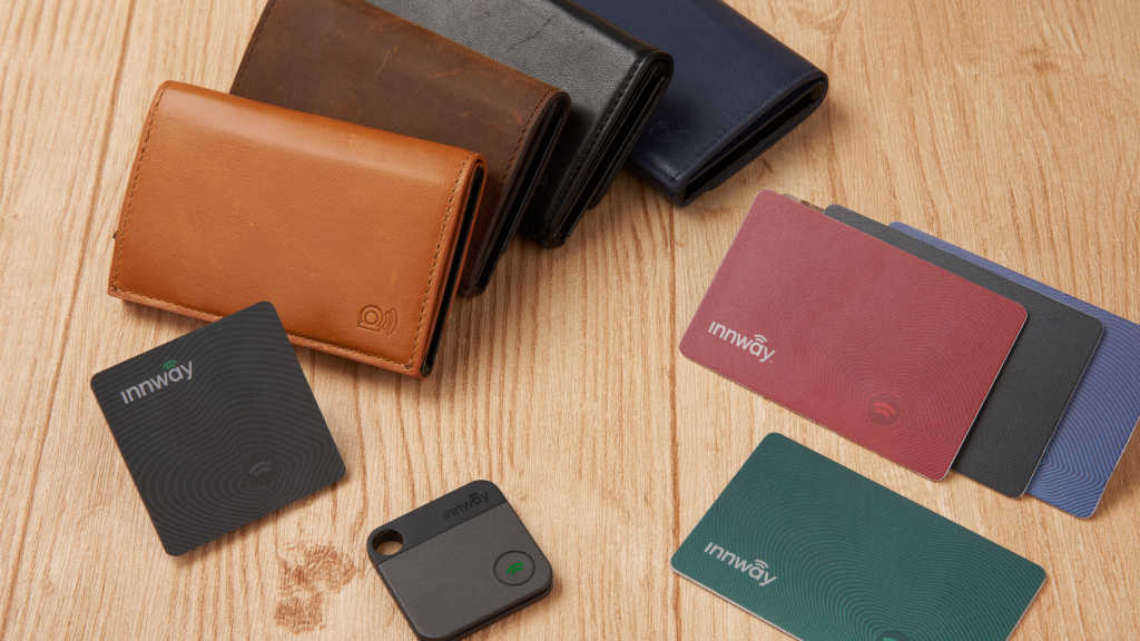 Innway Accent - The Stylish Smart Tracker Wallet project video thumbnail