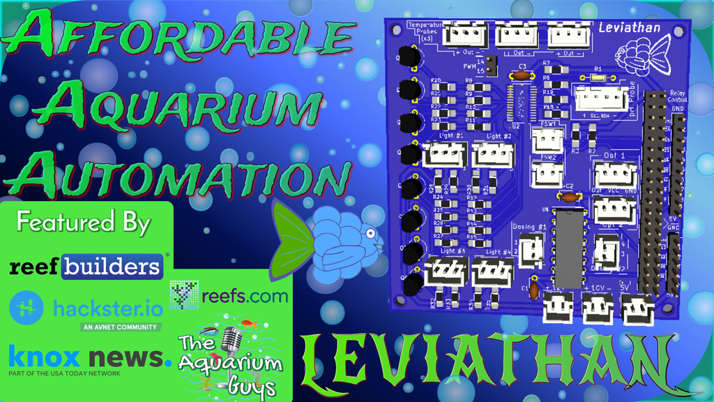 Leviathan-Affordable Aquarium Automation project video thumbnail