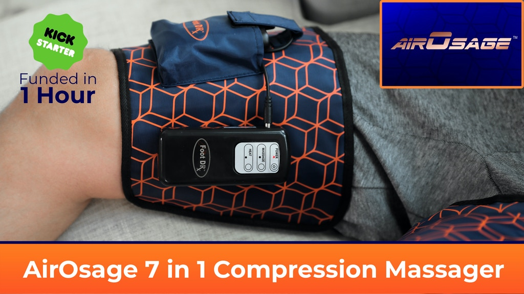 AirOsage Cordless & Portable Air Leg-Arm Massager project video thumbnail