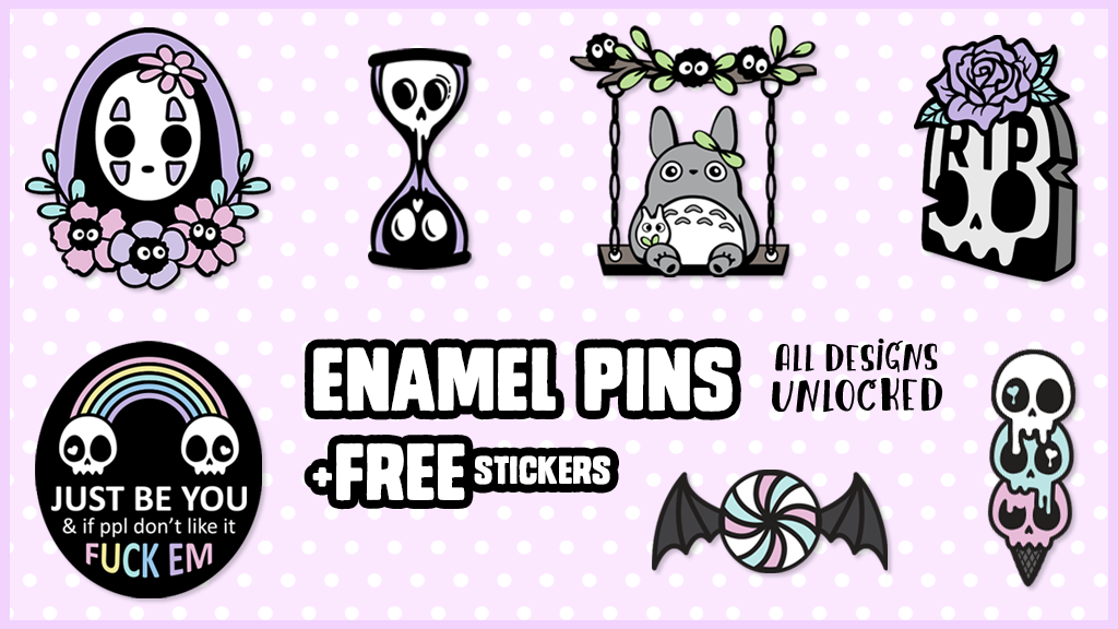 Project image for ♥ Enamel Pins by Daymare ♥