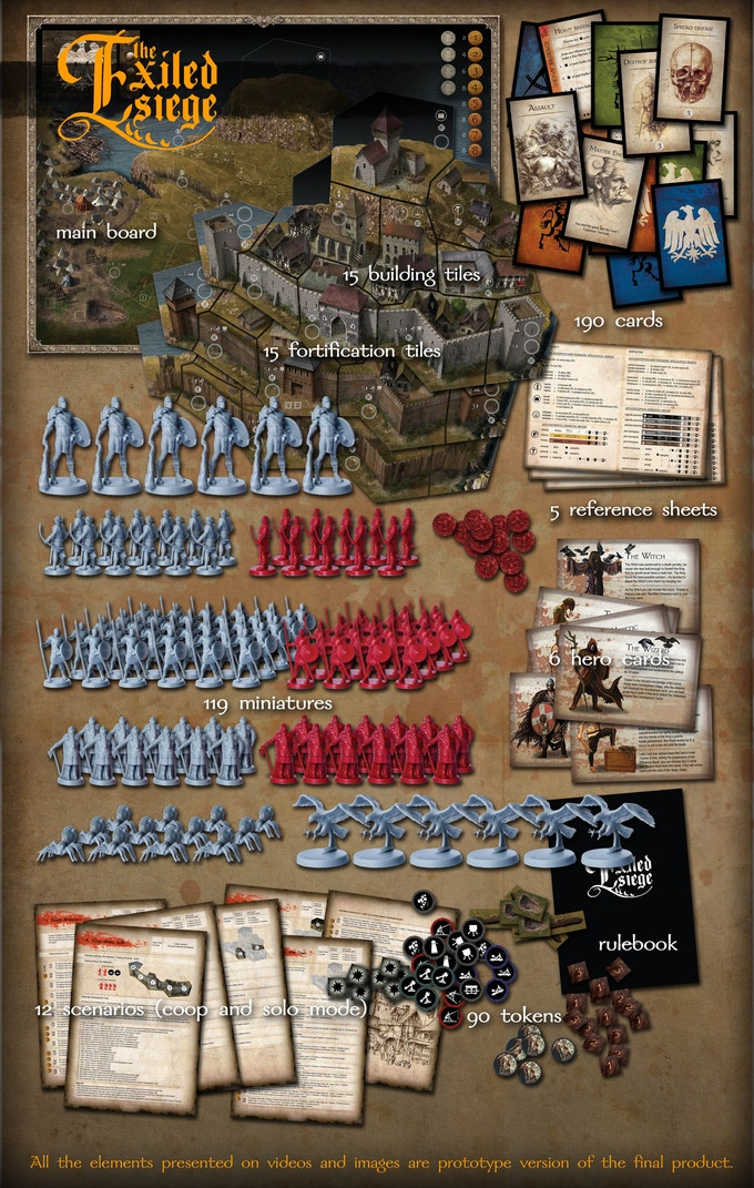 The Exiled: Siege - Butchers expansion